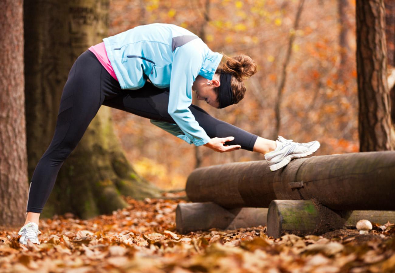Тропа здоровья для занятий спортом в лесу фото 4