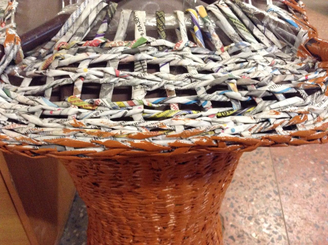 Мебель из газетных трубочек своими руками фото 82