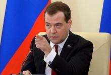 Опрос: работой Дмитрия Медведева недовольны 51% россиян