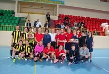 Ухтинцы одержали победу в матчевой встрече по мини-футболу(спорт глухих)